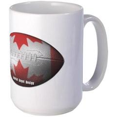 Canadian Football Mug