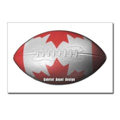 Canadian Football Postcards (Package of 8)