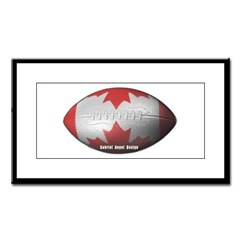 Canadian Football Small Framed Print