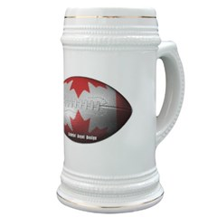 Canadian Football Stein