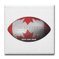 Canadian Football Tile Coaster