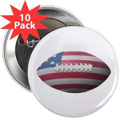 "American Football 2.25"" Button (10 pack)"