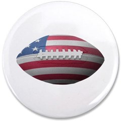 "American Football 3.5"" Button"