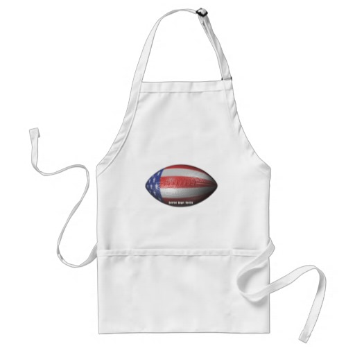 American Football Adult Apron