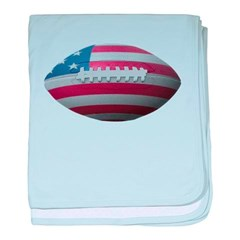 American Football Baby Blanket