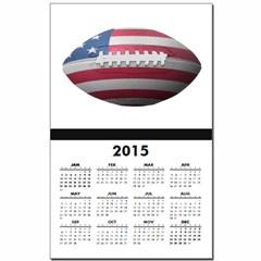 American Football Calendar Print