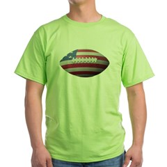 American Football Green T-Shirt