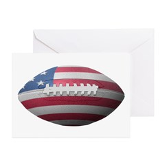 American Football Greeting Cards (Pk of 10)