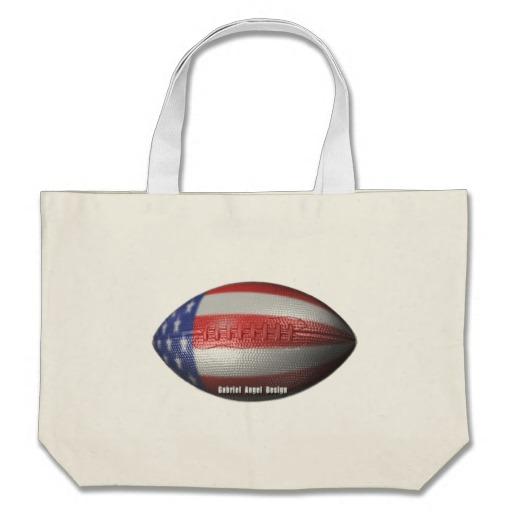 American Football Jumbo Tote