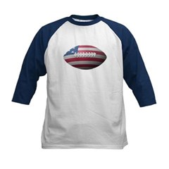 American Football Kids Baseball Jersey T-Shirt