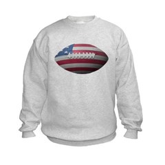 American Football Kids Crewneck Sweatshirt by Hanes