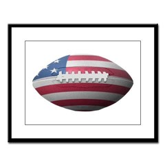 American Football Large Framed Print