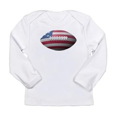 American Football Long Sleeve Infant T-Shirt