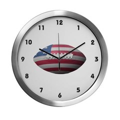 American Football Modern Wall Clock