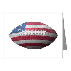 American Football Note Cards (Pk of 10)