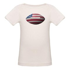 American Football Organic Baby Tee