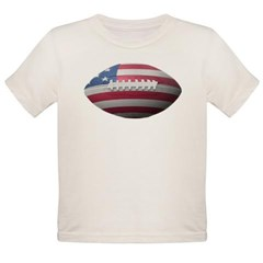 American Football Organic Toddler T-Shirt