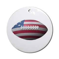 American Football Ornament (Round)