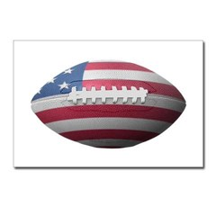 American Football Postcards (Package of 8)