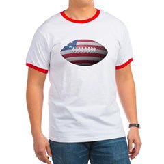 American Football Ringer T-Shirt