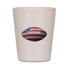 American Football Shot Glass