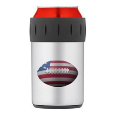 American Football Thermos Can Cooler