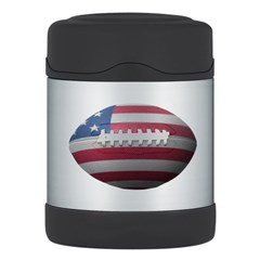 American Football Thermos Food Jar