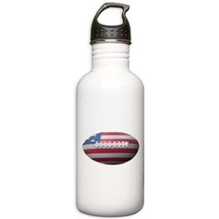 American Football Water Bottle
