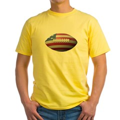 American Football Yellow T-Shirt