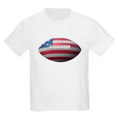 American Football Youth T-Shirt by Hanes