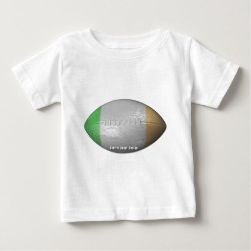 Irish Football Baby Fine Jersey T-Shirt