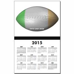 Irish Football Calendar Print