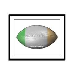 Irish Football Framed Panel Print