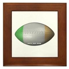 Irish Football Framed Tile