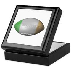 Irish Football Keepsake Box