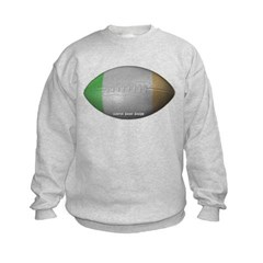 Irish Football Kids Crewneck Sweatshirt by Hanes