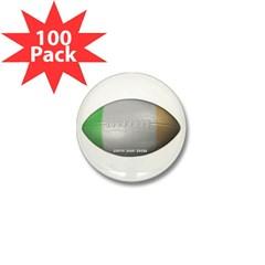 Irish Football Mini Button (100 pack)