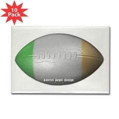 Irish Football Rectangle Magnet (10 pack)