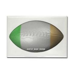 Irish Football Rectangle Magnet