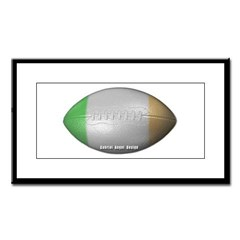 Irish Football Small Framed Print