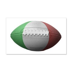 Italian Football 22x14 Wall Peel