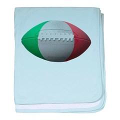Italian Football Baby Blanket