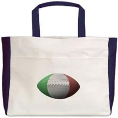 Italian Football Beach Tote Bag