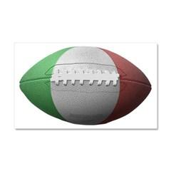 Italian Football Car Magnet 20 x 12