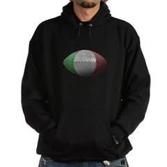 Italian Football Dark Hooded Sweatshirt