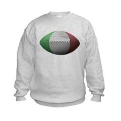 Italian Football Kids Crewneck Sweatshirt by Hanes