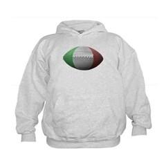 Italian Football Kids Sweatshirt by Hanes