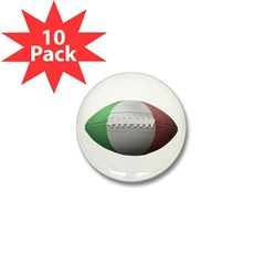 Italian Football Mini Button (10 pack)