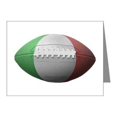 Italian Football Note Cards (Pk of 20)