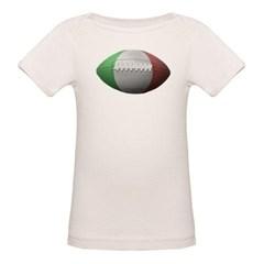 Italian Football Organic Baby Tee